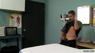 Cleaning boy caught on a doc masturbating – Lex Sabre and Adrian Suarez