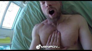 MenPOV Boyfriend Colt Rivers welcome home fuck with Tony Shore