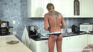 Super hot blowjobs and bareback between two gay studs