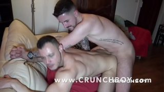 the first gay porn shoot of GUIT GUY the star french of CAM4
