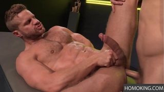 Fight with Your Dick! Landon Conrad's Pole sinks into Shawn Wolfe's Ass