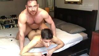 Jonas Jackson & Rubberax sexo amador