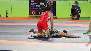 Wrestling Rio 2016 Luta Greco Romana  Russia x Turquia
